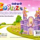 3D Puzzle DIY Toy - Purple Fortress 35 Pieces