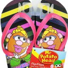 lpf Mr. Potato Head - Flip Flops Sandals - Size L 12-13 (Kids)