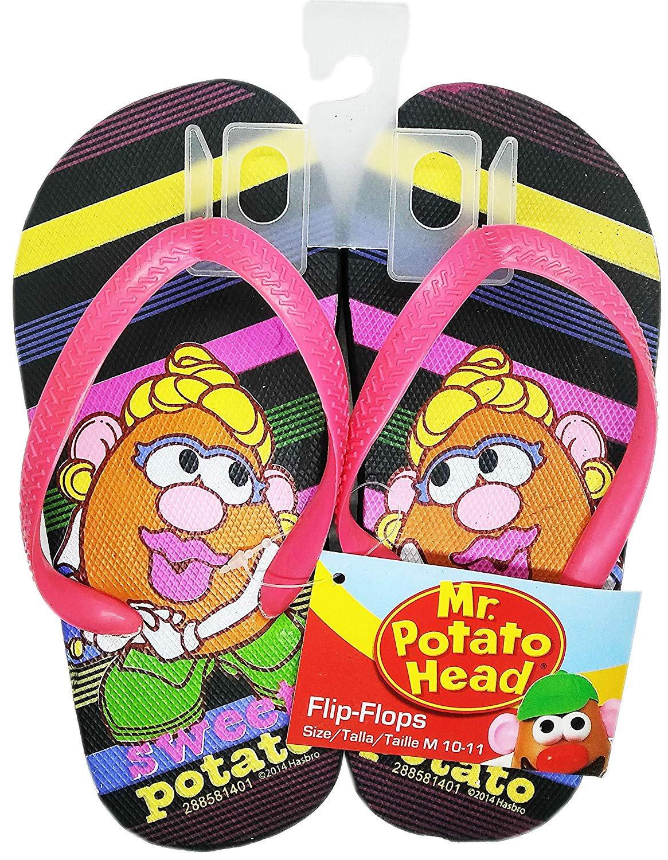 lpf Mr. Potato Head - Flip Flops Sandals - Size M 10-11 (Kids)