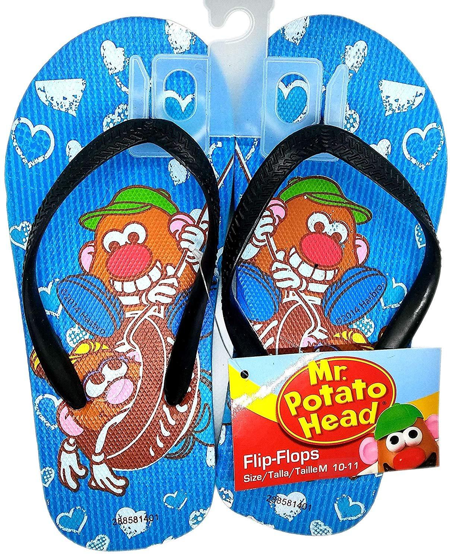 Mr Potato Head - Flip Flops Sandals - Size M 10-11 (Kids)