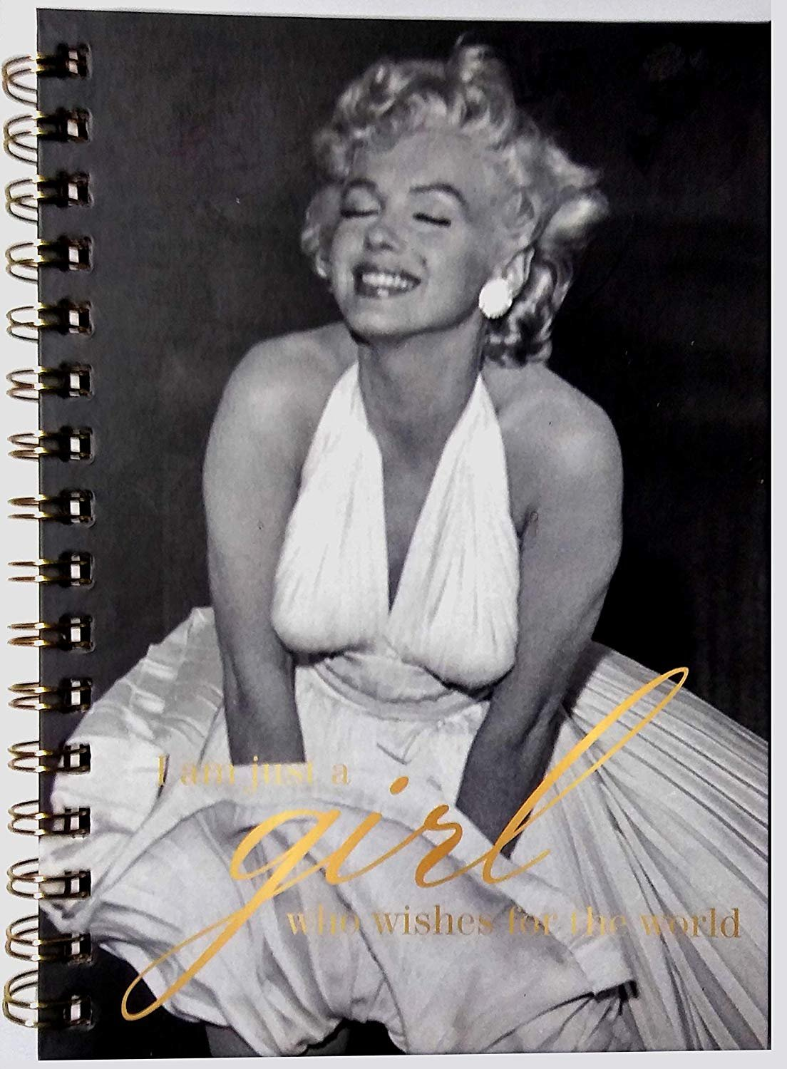 Marilyn Monroe Hardcover 230 Pages Journal/Notebook - v1