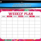 Magnetic Dry Erase Calendar - White Board Planner for Refrigerator/School Lockers -  v15