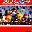Cra-Z-Art Fun Shaped Hot Air Balloons - 500 Piece Jigsaw Puzzle - Puzzlebug