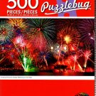Cra-Z-Art Amazing Fireworks Display Reflecting on The Water - 500 Piece Jigsaw Puzzle