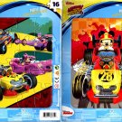 Disney Junior - Mickey and The Roadster Racers - 16 Pieces Jigsaw Puzzle (Set of 2)