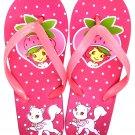 Strawberry Shortcake Flip Flops Sandals - Size 1-2 - Variation 1