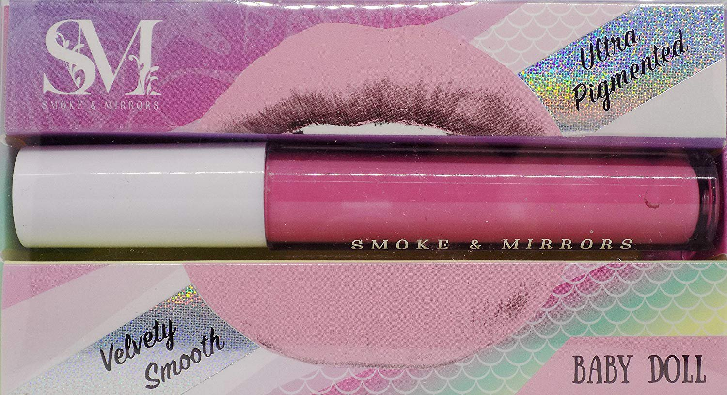 Smoke & Mirrors Matte Lip Gloss, Baby Doll