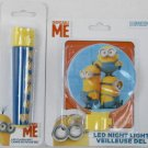Despicable Me Minions LED Night Light and Flashlight Bundle