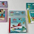 2018 Disney Enterprises, Inc. Baby Bubble Bath Time Books Set of 3