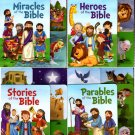 The Stories of the Bible Tabbed Books - Tabbed Board Books (Set of 4 books) - v2