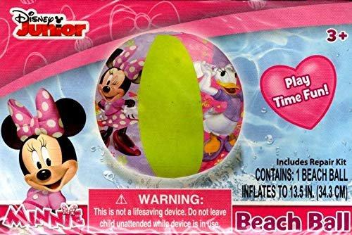 Disney Minnie - Beach Ball - Includes Repair Kit - Swim Time Fun! - v2
