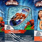 "Marvel Spider-Man - 17.5"" Swim Ring & Surf Rider & Beach Ball - Includes Repair Kit, - (3 Pack)"