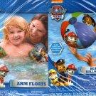 "Nickelodeon Paw Patrol - 17.5"" Swim Ring & Arm Floats - Includes Repair Kit, - (2 Pack)"