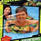 "Nickelodeon Teenage Mutant Ninja Turtles - 17.5"" Swim Ring - Includes Repair Kit -Swim Time Fun!"
