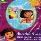 Nickelodeon Dora The Explorer - Arm Floats Includes Repair Kit - Swim Time Fun!