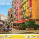 Sidewalk Cafes - Baixa Pombalina Portugal - 300 Pc Jigsaw Puzzle - NEW by Puzzlebug