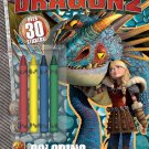 Bendon Publishing How to Train Your Dragon 2 Big Crayon Book to Color (32 Page)