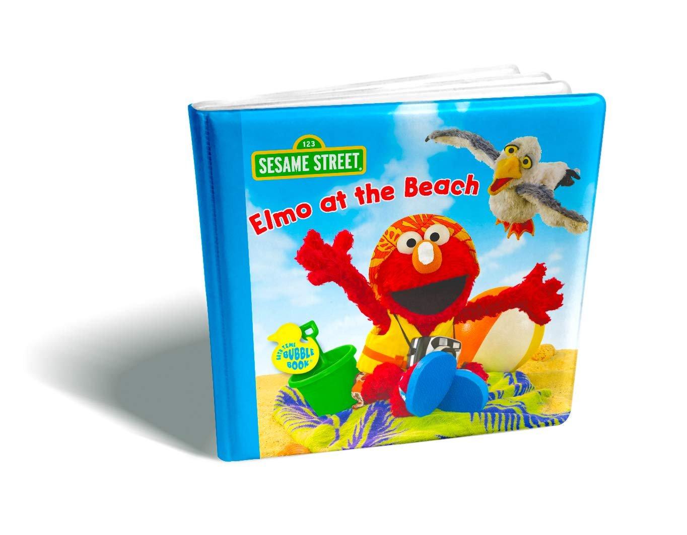 Sesame Street Bath Time Bubble Book-Elmo at the Beach