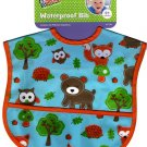 Babies 2 Grow - Waterproof Vinyl Infant Baby Bib - v2