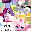 Hasbro Littlest Pet Shop Jumbo Coloring & Activity Book - Custom Style