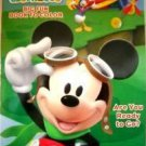 "Disney Mickey Mouse Big Fun Book to Color ""Are You Ready to Go?"" - Coloring Book"