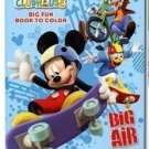 "Disney Mickey Mouse Clubhouse Coloring Book ""Big Air"" Featuring Mickey Mouse"