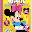 """Disney Mickey Mouse Clubhouse Coloring Book """"A Day to Play!"""" Featuring Minnie"""