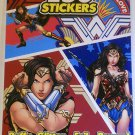 Peachtree Playthings Wonder Woman Stickers- 4 Sheet Pad - 150+ Stickers