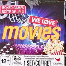 We Love Movies - Cinema Trivia Questions Boxed Card Game