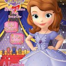 Sofia the First Sticker Scene Plus Book to Color, a Lovable Pricess