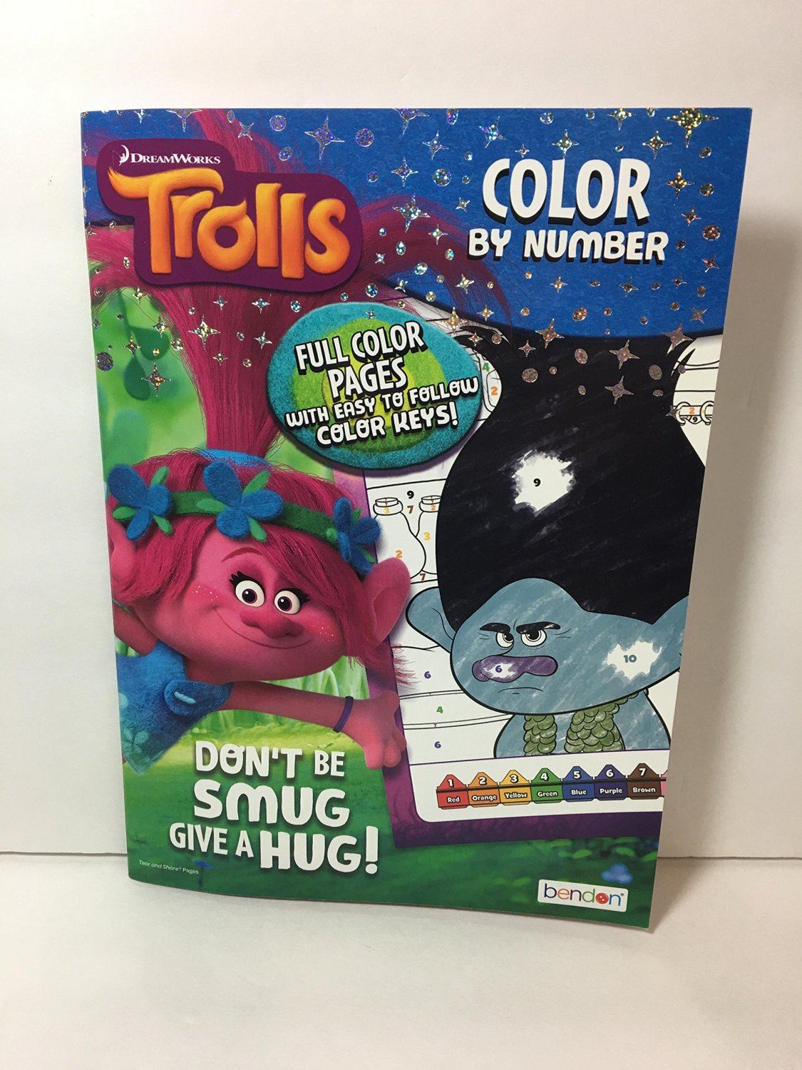 Trolls Color by Number