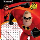 The Incredibles Bendon Ultimate Activity Poster Book - Word Search