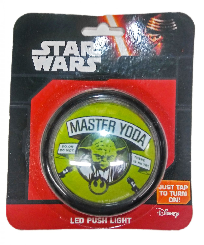 Disney Star Wars - Master Yoda - Led Push Light
