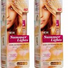 L'Oreal Paris Summer Lights Lightening Gelee Kit, From Dark Blonde [02] 3.4 oz (Pack of 2)