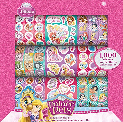 Trends International Disney Palace Pets Stickers by The Roll