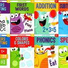 Good Grades First Grade Educational Workbooks - Set of 8 Books