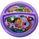 Dora Divided Plate, Childs Divided Plate, Round Shaped Plate