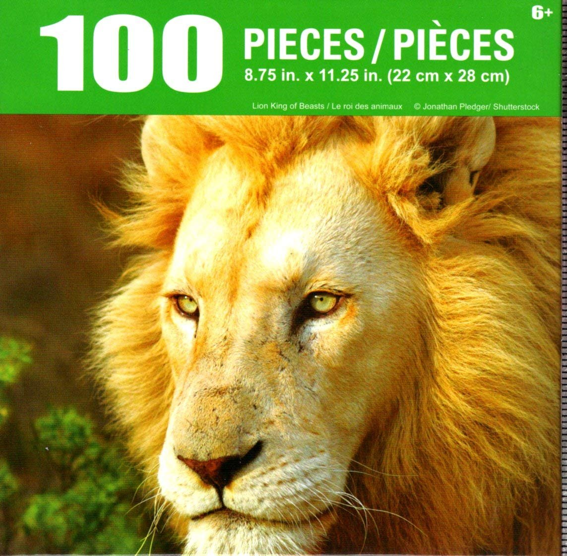 Cra-Z-Art Lion King of Beasts - 100 Piece Jigsaw Puzzle