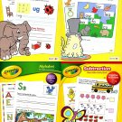 Crayola Basic Skills Activity Educational Workbooks - Set of 4 Books