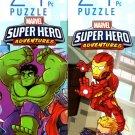 Marvel Super Hero Adventures - 24 Pieces Jigsaw Puzzle (Set of 2) - v2