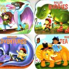 Pop-Up Book - Dinosaurs Adventures - Set of 4 Pop-Up Board Books
