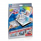 Disney Frozen Crayola Color ALIVE 2.0 Coloring Book, Crayons and Mobile App Set