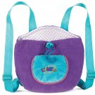 Webkinz Knapsack Purple Pet Carrier
