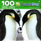 Cra-Z-Art Penguin Family - Puzzlebug - 100 Piece Jigsaw Puzzle