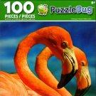 Cra-Z-Art Flamingo Friends - Puzzlebug - 100 Piece Jigsaw Puzzle
