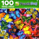Cra-Z-Art Colorful Butterflies - Puzzlebug - 100 Piece Jigsaw Puzzle