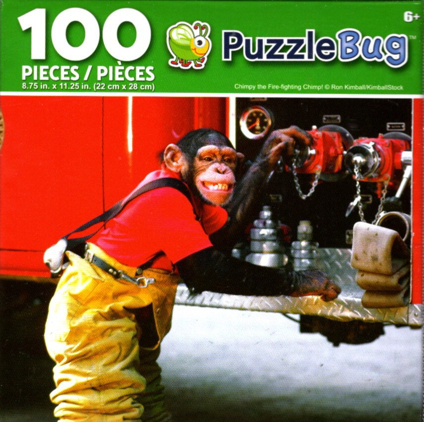 Champy The Fire - Fighting Champ! - Puzzlebug - 100 Piece Jigsaw Puzzle