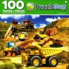 Cra-Z-Art Construction Site - Puzzlebug - 100 Piece Jigsaw Puzzle