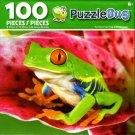 Cra-Z-Art Red Eyed Tree Frog - Puzzlebug - 100 Piece Jigsaw Puzzle