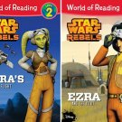 World of Reading Star Wars Rebels: Level 2 - (Set of 2 books)